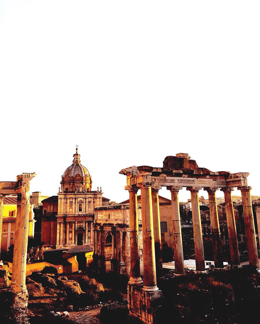 Rome, the eternal city of great beauty
