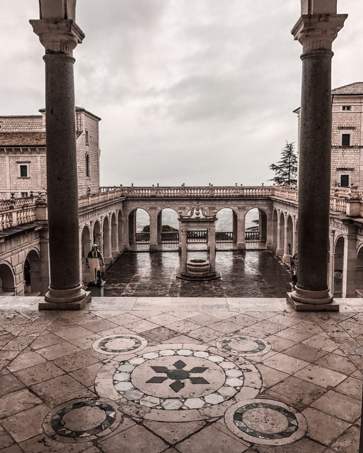 Montecassino epicenter of the Second World War