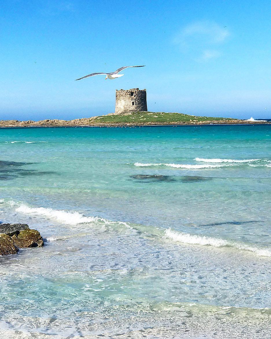 Pelosa Beach, a small heavenly paradise in Stintino, Sardinia